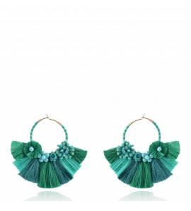 Cartagena Earring Green