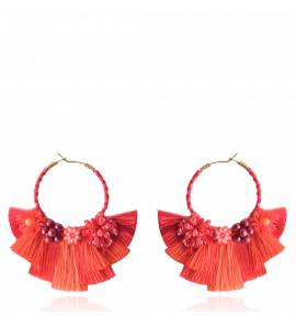 Cartagena Earring Red