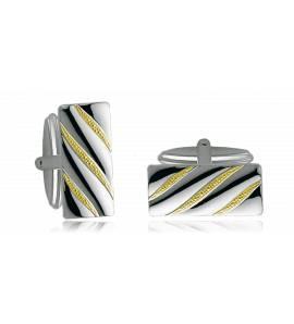 Men's Cufflinks  diagonale