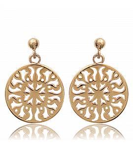 Ohrringe frauen goldplattiert  orientales cerclées