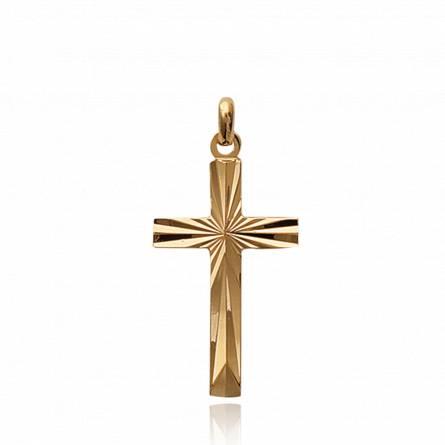 Pandantiv placate cu aur croix