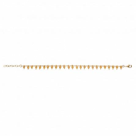Woman gold plated Aymar yellow bracelet