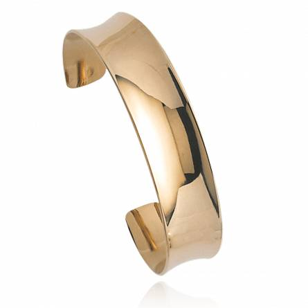 Woman gold plated Chrissie bracelet
