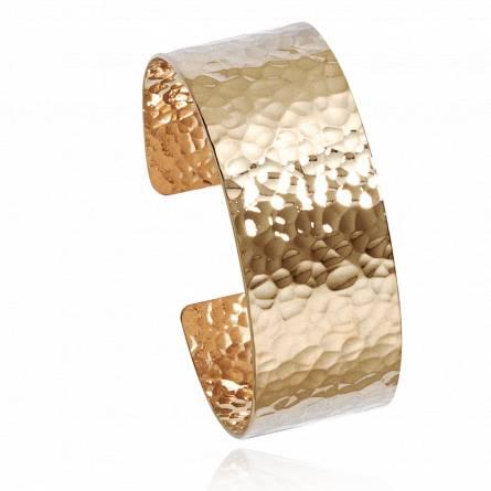 Woman gold plated Christen bracelet