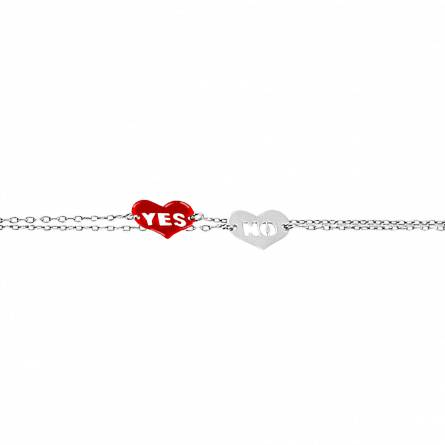 YES or NO Bracelet