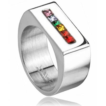 Zegelringen roestvrijstaal Rainbow